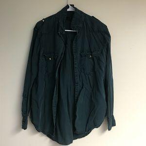 H&M Dark Green Army-style Jacket